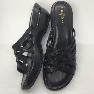 Cole Haan Nike Air Ezra Slide Wedge Sandals 8AA